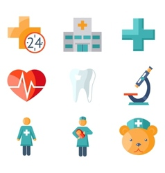 Medical care and health vector
