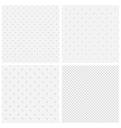 Texture of blurred gray dots vector