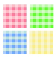 seamless pattern colorful cell vector image