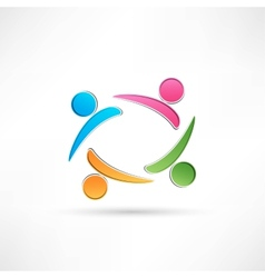 uccess people icon vector image