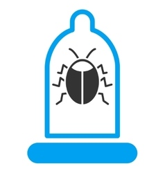 Bug Protection Icon vector image