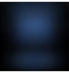 Dark-blue gradient background vector image