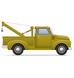 car pickup 03 vector image vector image