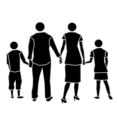 family icon concept vector image vector image