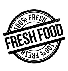 Fresh food stamp rubber grunge vector