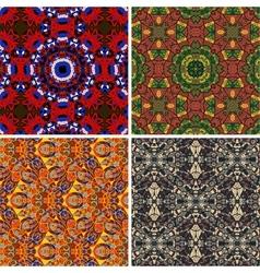 Mandala seamless pattern oriental vector image vector image