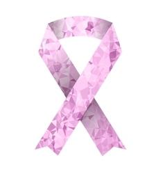Pink Ribbon vector image vector image