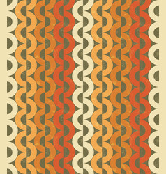 seamless chain grange pattern vector image vector image