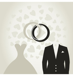 Wedding dress3 vector