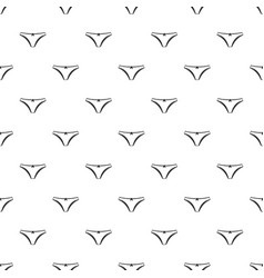Panties pattern vector