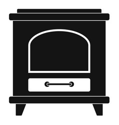 Ancient oven icon simple style vector