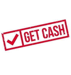 Get Cash rubber stamp vector image vector image