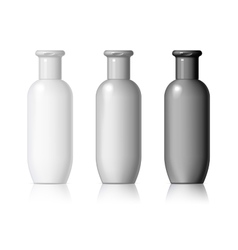 Plastic bottle vector image