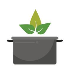 Vegetarian food organic diet vector