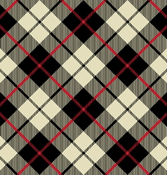 Black and beige fabric texture diagonal little vector