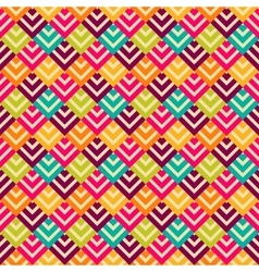 Bright retro seamless pattern vector