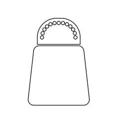 salt or pepper black color icon vector image