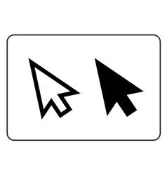 Arrows pointer signs set vector image
