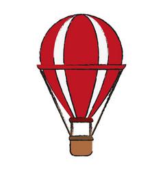Ballon draw vector