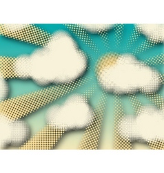 fair weather vector image