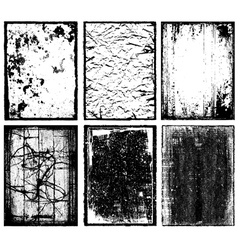 Frames and Textures vector image vector image