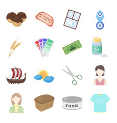 Sports entertainment hobby and other web icon in vector