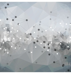 Molecule structure background for communication vector