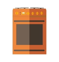 Stove icon kitchen and cooking design vector