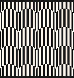 black and white stripes seamless pattern texture vector image vector image