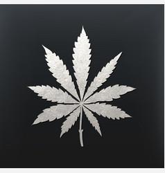 Cannabis leaf vector