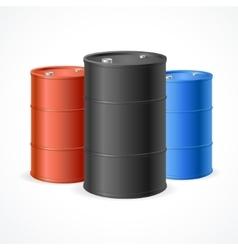 Oil barrel drum vector