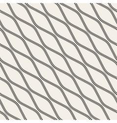 Seamless black and white diagonal stripy vector