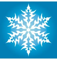 Snowflake vector image vector image