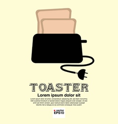 Toaster EPS10 vector image vector image