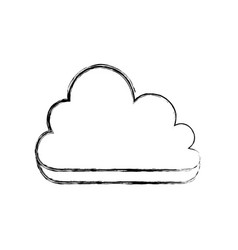 Cloud computing technology vector
