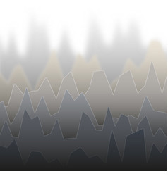 Rows of gray colored diagram with peaks of vector
