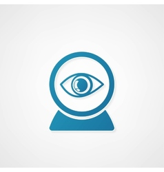 Web camera eye icon vector