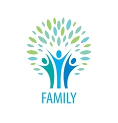 Logo family vector