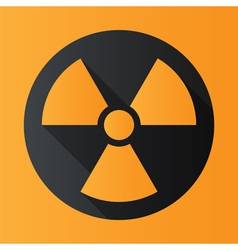 Icon radiation vector