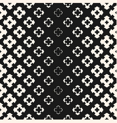 halftone geometric seamless texture with flower vector image
