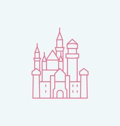 Neuschwanstein Castle vector image