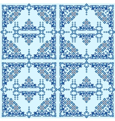 oriental style seamless pattern ten vector image vector image