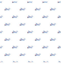 small plane pattern vector image