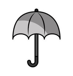 umbrella protection sign icon vector image vector image