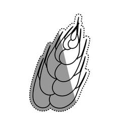 Wheat natural food vector