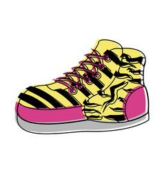 women fashion boot vector image
