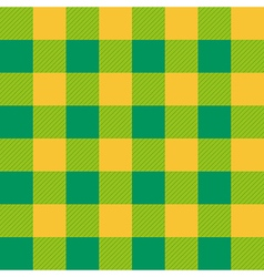 Yellow Green Chessboard Background vector image