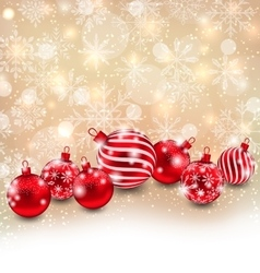 Christmas abstract shimmering background vector