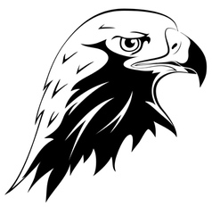 Tattoos eagles head vector