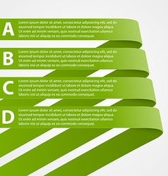 Abstract infographic Design elements vector image